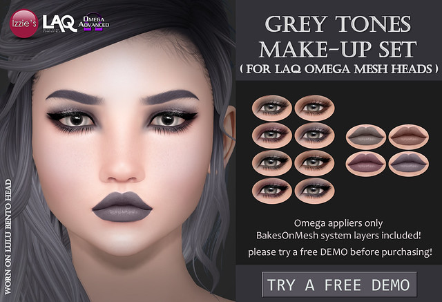 Grey Tones Make-Up Set (LAQ Omega) for FLF