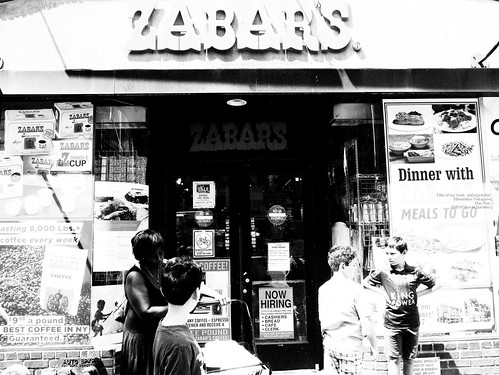ZABAR'S on Sunday.