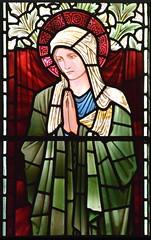 Blessed Virgin (Burne-Jones for Morris & Co, 1902)