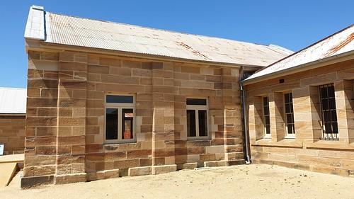 Cockatoo Island convict barracks