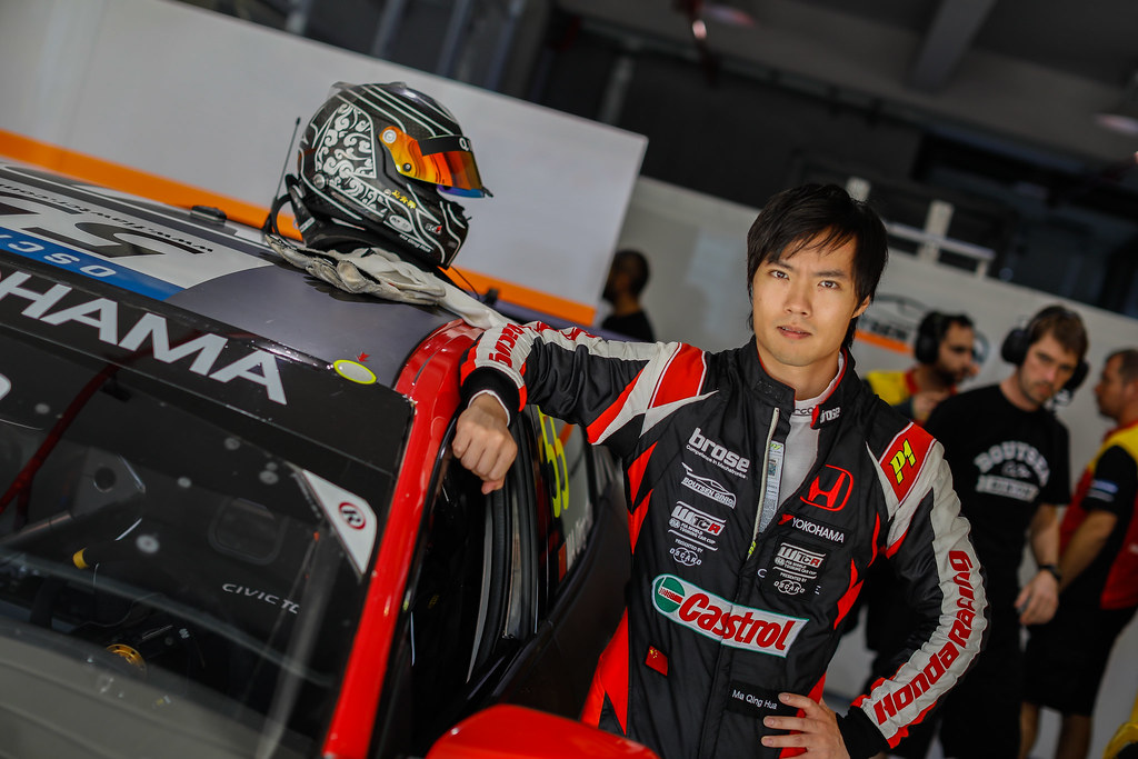 QING HUA Ma (chn), Honda Civic TCR team Boutsen Ginion Racing, portrait during the 2018 FIA WTCR World Touring Car cup of China, at Ningbo  from September 28 to 30 - Photo Marc de Mattia / DPPI