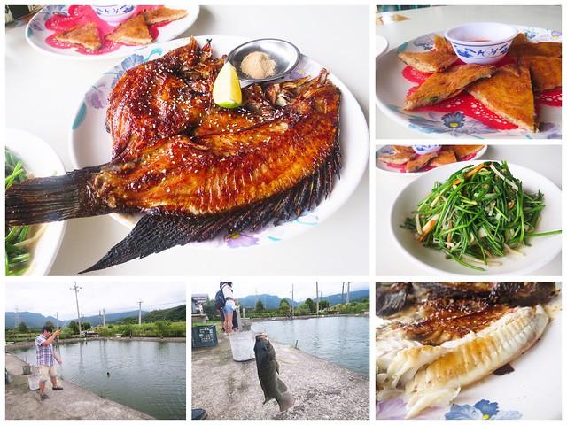 【宜蘭員山餐廳漁樂釣魚碳烤休閒餐廳