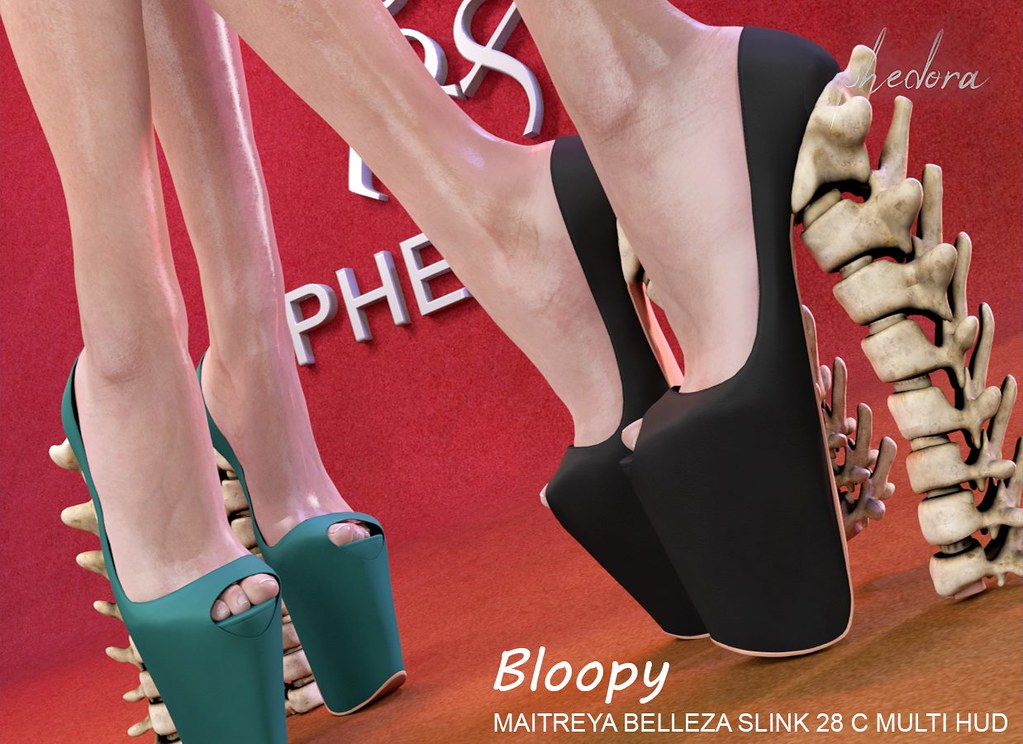 "Phedora. for Collabor88- ""Bloopy"" heels - TeleportHub.com Live!"
