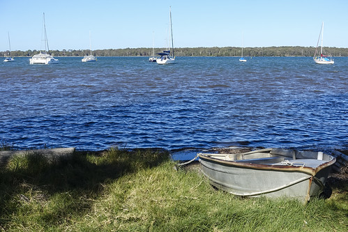 Looking Across Lake Macquarie