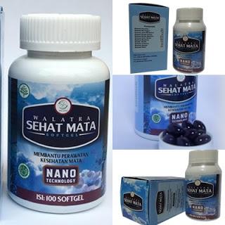 Obat Mata Minus Herbal Sehat Mata Softgel