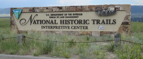 National Historic Trails Interpretation Center Sign (Casper, Wyoming)