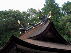 Photo:Mikami Shrine (御上神社) sanctuary (本殿) roof By Greg Peterson in Japan