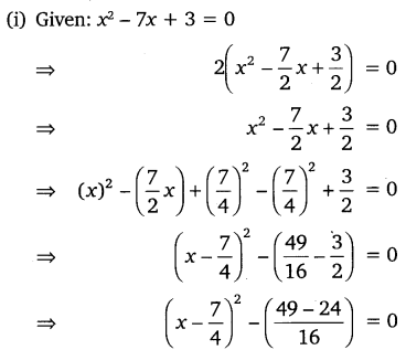 NCERT Solutions for Class 10 Maths Chapter 4 Quadratic Equations 12
