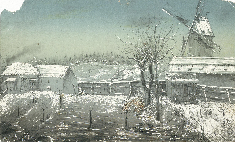 Windmill Jan Erss, Stockholm, Uppland, Sweden