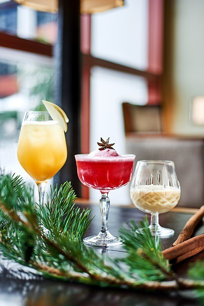 Festive Concoctions-Bob's Bar Capella