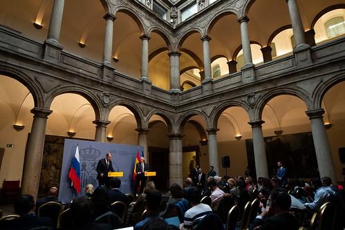 Rueda de prensa con Sergei Lavrov
