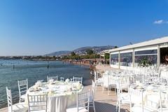 Restaurant am Strand in Athen