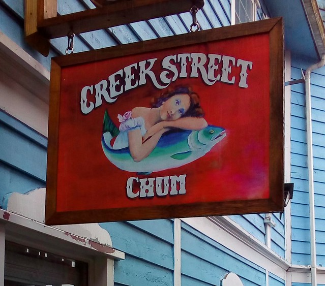Ketchikan's old red light district after prostitution was made illegal downtown -- Creek Street by bryandkeith on flickr