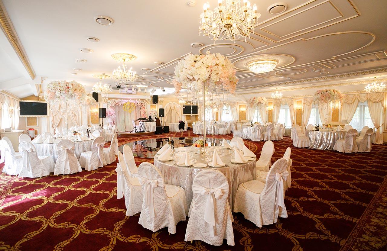 Большой банкетный зал Парадайз фото