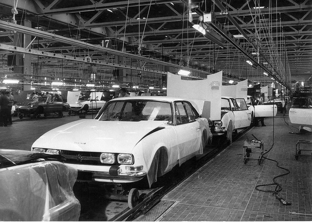 Fabrika Pininfarina 1970