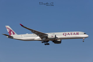FRA I Qatar Airways A7-AND I Airbus A350-1000 I 2018-10-10-02 | by Charlie@KClmj