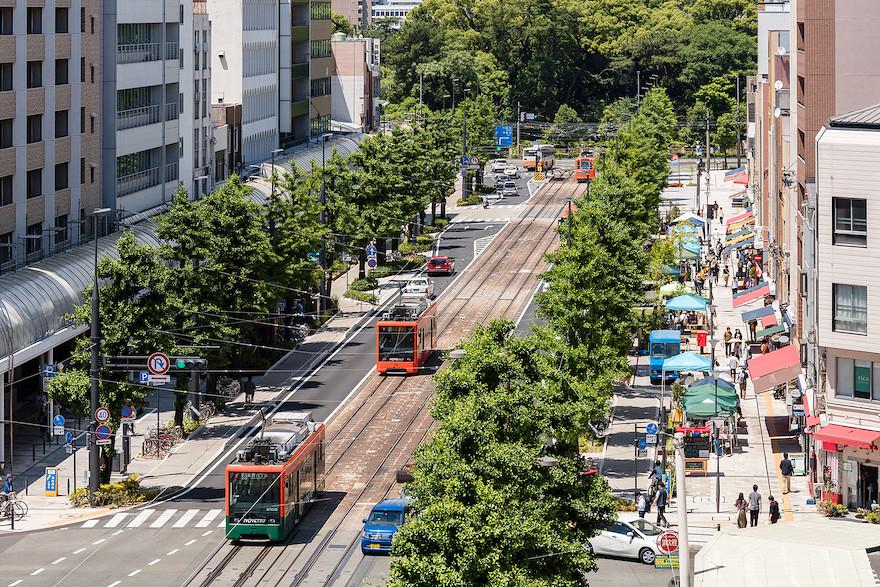 松山 街路