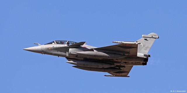 Armée de l'Air Dassault Rafale B 337/4-IL, EC 1/4 Gascogne, TLP 2018-3, Albacete AFB/LEAB