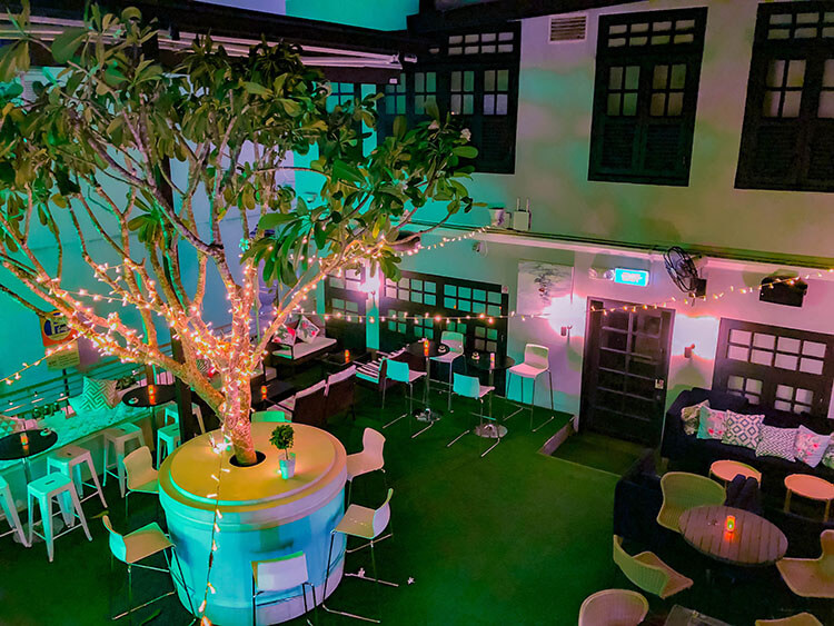 Pandora's Garden Rooftop Bar