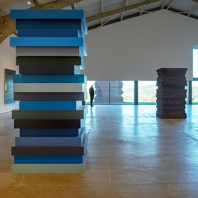 stack blues | sean scully | YSP