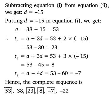NCERT Solutions for Class 10 Maths Chapter 5 Arithmetic Progressions 25