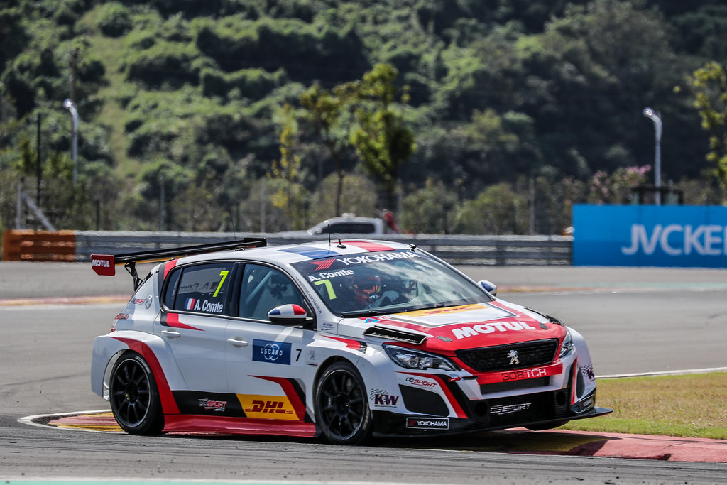 07 COMTE Aurelien, (fra), Peugeot 308 TCR team DG Sport Competition, action during the 2018 FIA WTCR World Touring Car cup of China, at Ningbo  from September 28 to 30 - Photo Marc de Mattia / DPPI