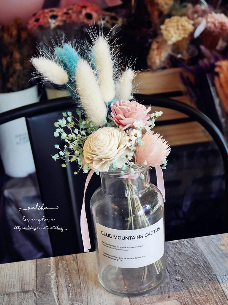 新店好拍乾燥花浪漫氣氛好餐廳咖啡館下午茶推薦花草慢食光 (4)