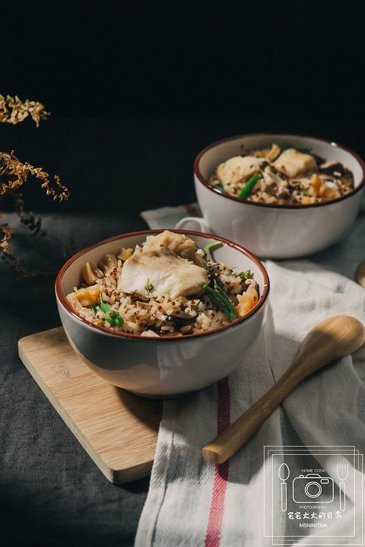 炊飯食譜,鯛魚干貝炊飯 @陳小可的吃喝玩樂