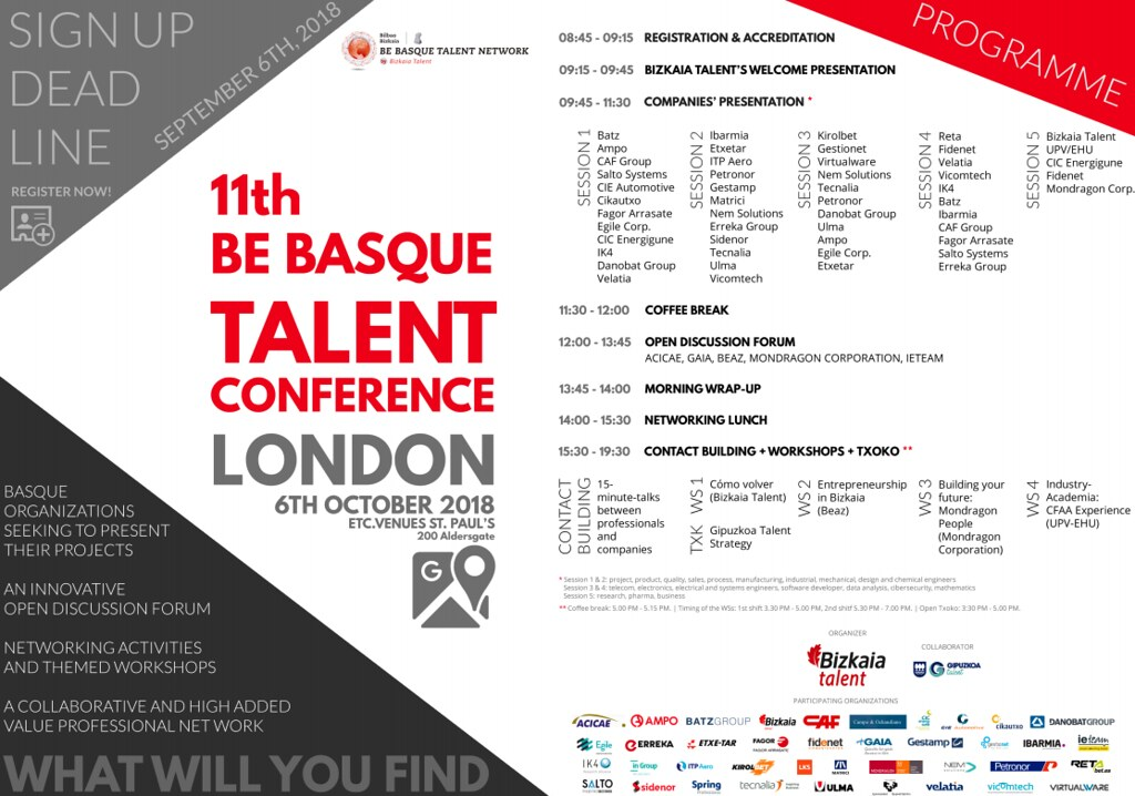 Be Basque Talent London