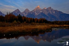 First Light Tetons