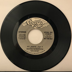 DISCO TEX & THE SEX-O-LETTERS:GET DANCIN'(RECORD SIDE-B)
