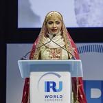 Hiyam Al Jabri during Plenary session 1 at IRU World Congress