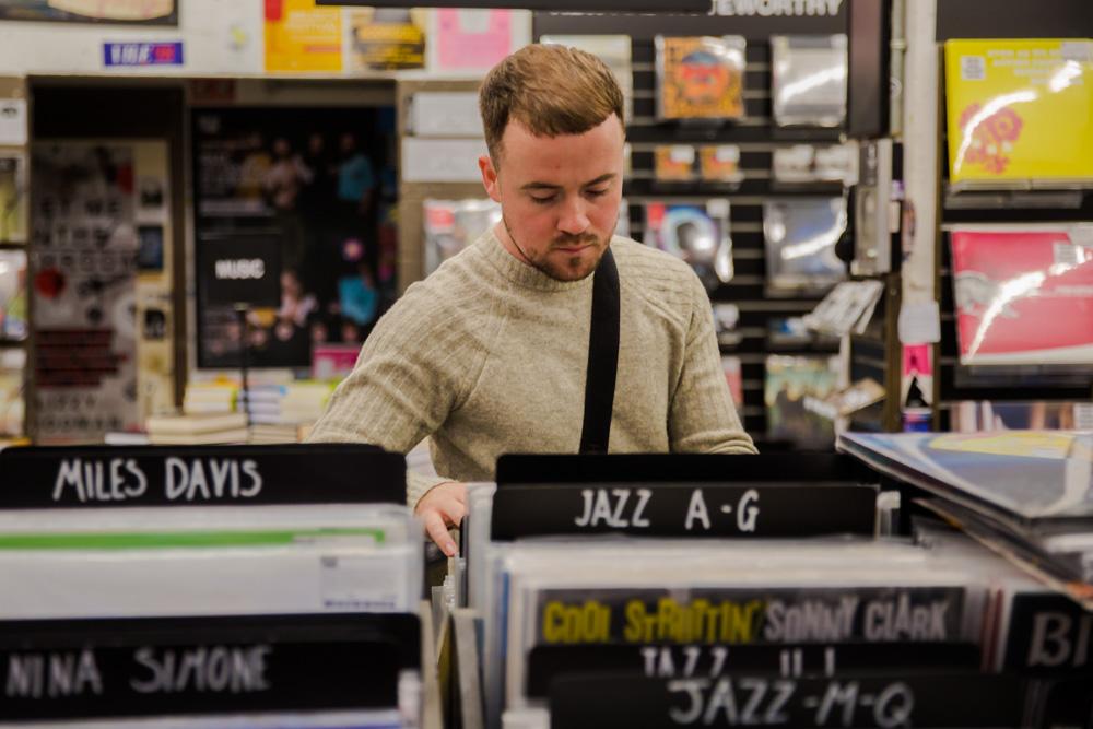 Record Shopping with Maverik Sabre
