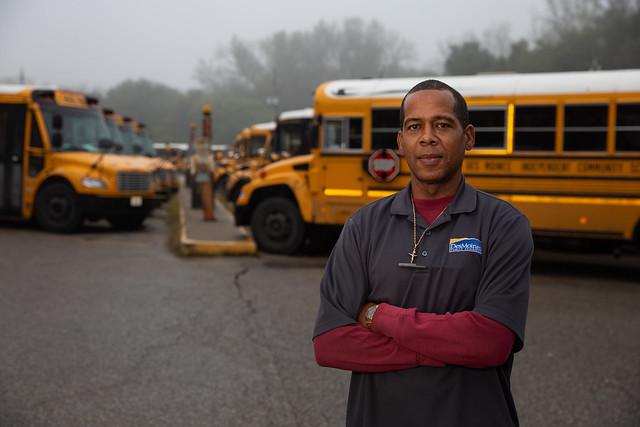 Bus Driver Danny Johnson