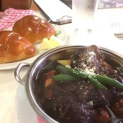 super rich beef stew @ yoshikami ❤︎ ・ ・ ・ #ヨシカミ #洋食 #ビーフシチュー #浅草 #東京 #yoshikami #beefstew #asakusa #tokyo #japan