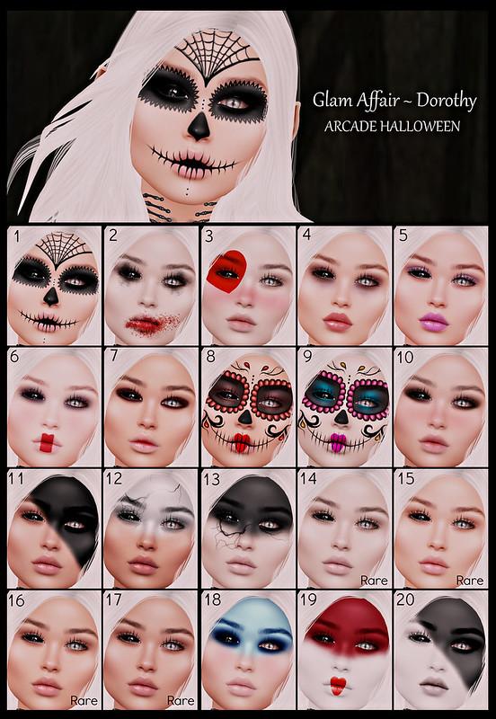 Glam Affair - Arcade Halloween
