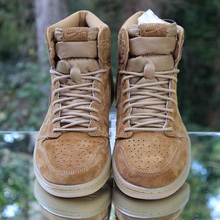 """315d7ce3adfe ... Air Jordan 1 Retro High OG """"Wheat"""" Golden Harvest 555088-710 Men s Size"""