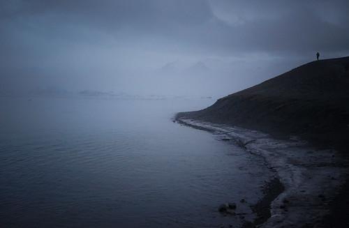 A moody and foggy Jökulsárlón - Glacier Lagoon 2 Day Tour. Photographer Scott Drummond