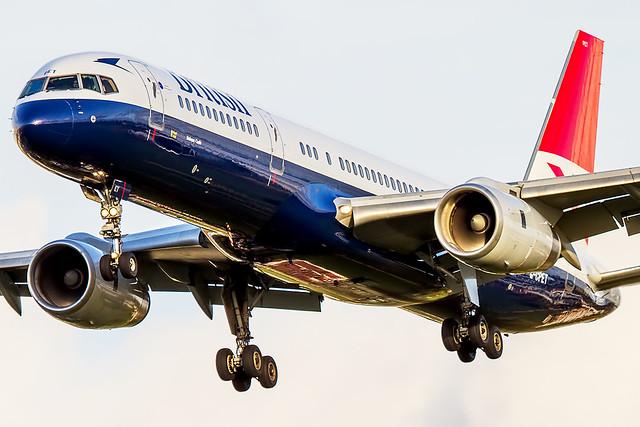 G-CPET British Airways Boeing 757-200