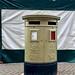 Gold pillar box