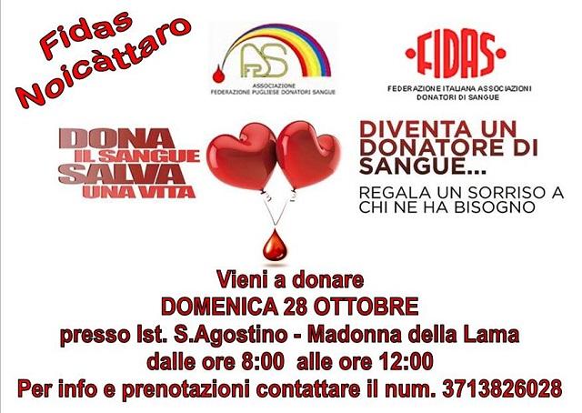 Noicattaro. donazione intero