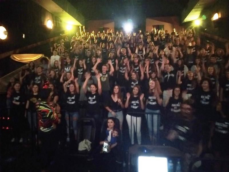 Aulão no Cinema - EM