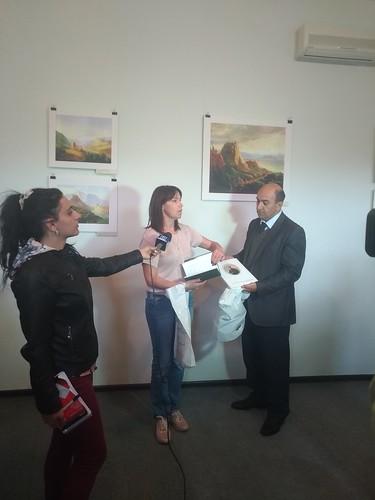 Выставка «Лермонтов-художник» в Музее сестер Асламазян в Гюмри. Лермонтовские выставки в Армении  при поддержке Российского центра науки и культуры в Ереване