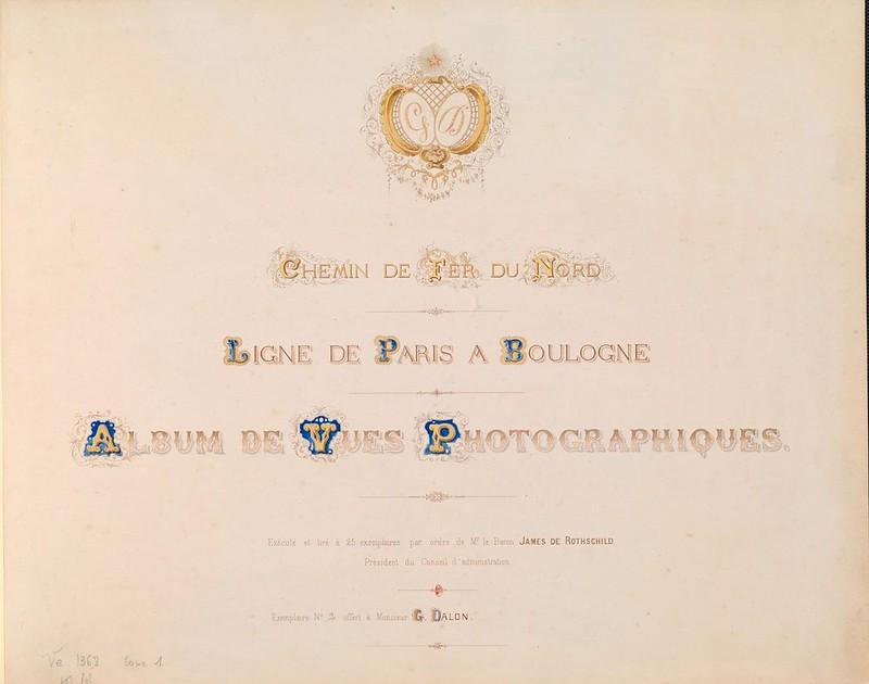1860. Северная железная дорога. Живописное путешествие от Парижа до Булони