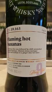 SMWS 39.163 - Flaming hot bananas