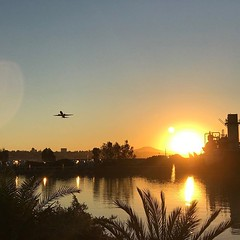 Sunrise before the Fit Foodie 5k at Liberty Station,…