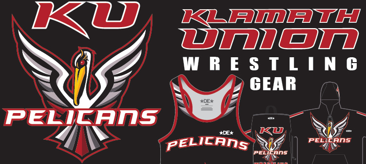 Klamath Union Pelicans Wrestling Gear