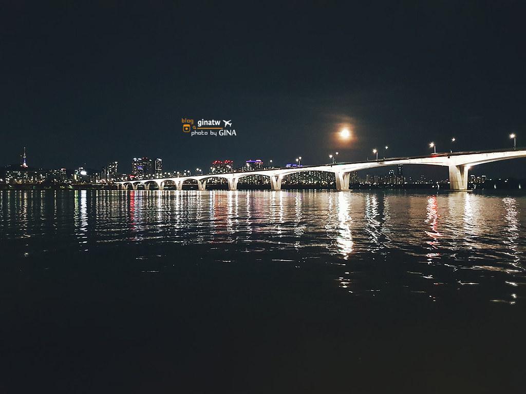 【2020首爾夜遊漢江】Eland Cruise 浪漫搭遊覽船|線上船票優惠|盤浦大橋小型煙火秀 @GINA環球旅行生活|不會韓文也可以去韓國 🇹🇼