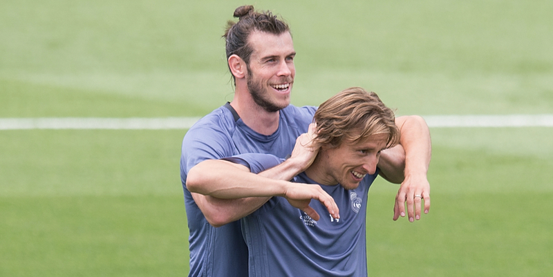 Bale dan Modric tersingkir dari skuad pertama Real Madrid