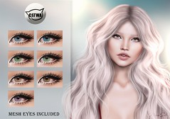 ::MD:: Leslie Catwa Eye Appliers + Mesh eyes (unrigged)